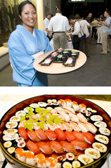 Natsunoya Tea House - Sushi Station